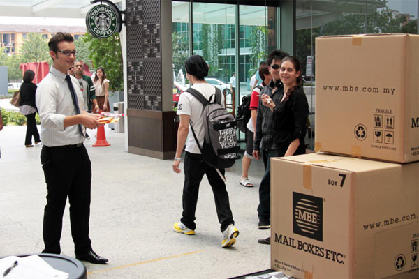 Campus Invasion @ Taylor's University Lakeside Campus