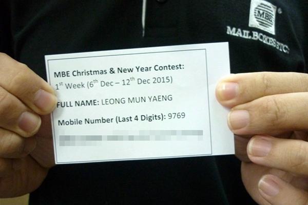 Leong Mun Yaeng 1st Week (6th Dec - 12th Dec)