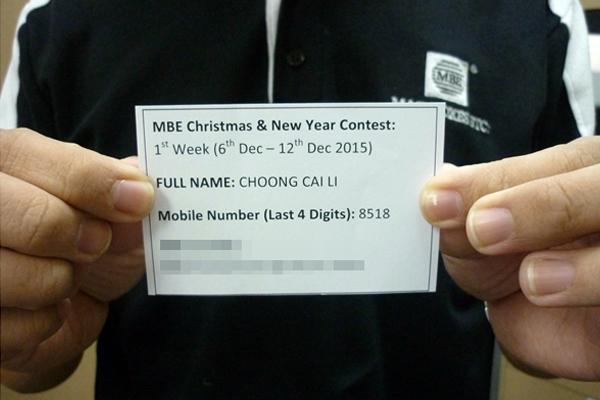 Choong Cai Li 1st Week (6th Dec - 12th Dec)