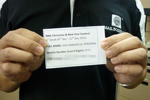 Siva Sangar A/L Percemal 1st Week (6th Dec - 12th Dec)